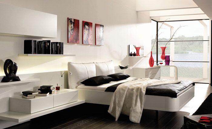 zwart wit slaapkamer inrichting | Slaapkamer - Bedroom | Pinterest ...