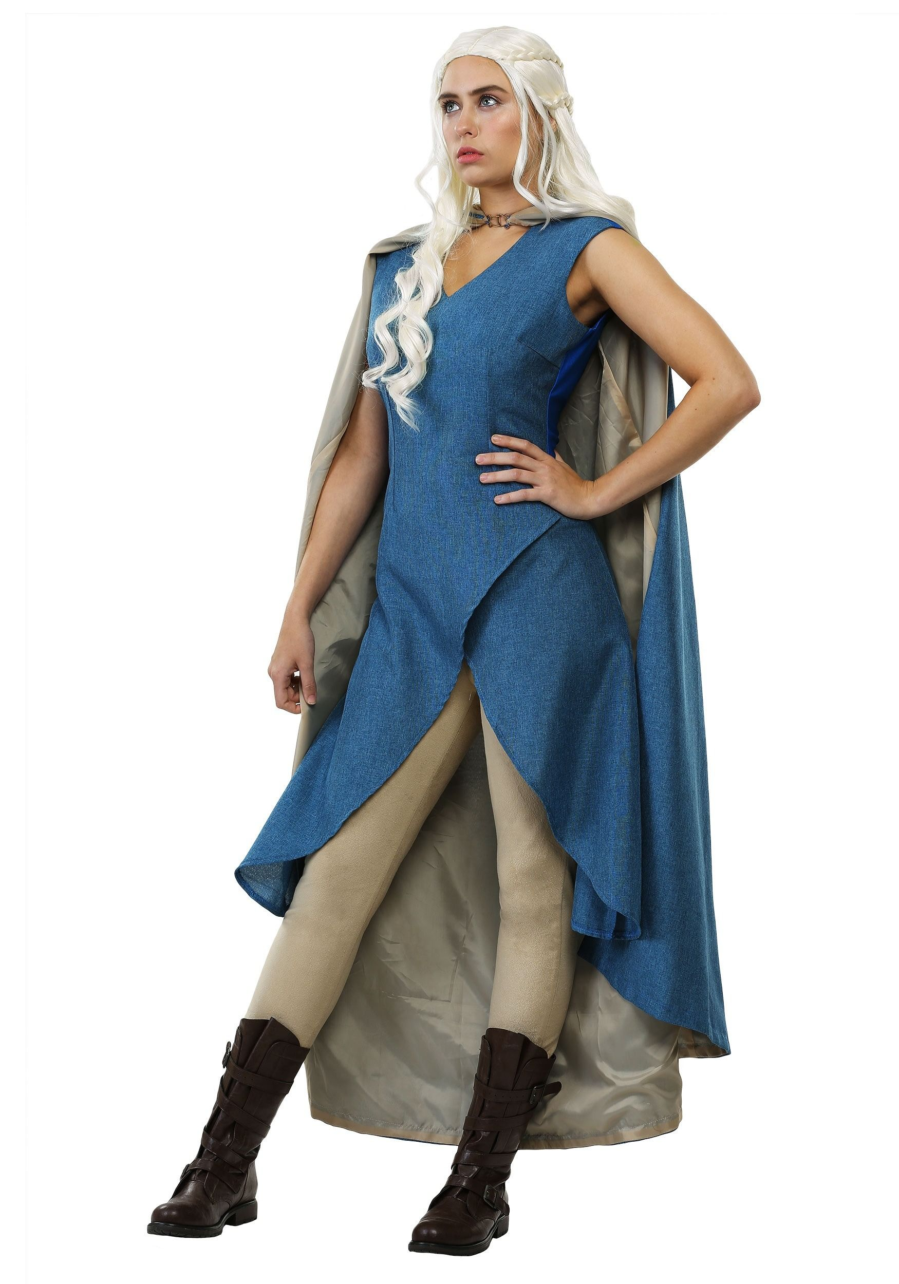 29642d266a0 This women's Dragon Queen costume with cape is a HalloweenCostumes ...