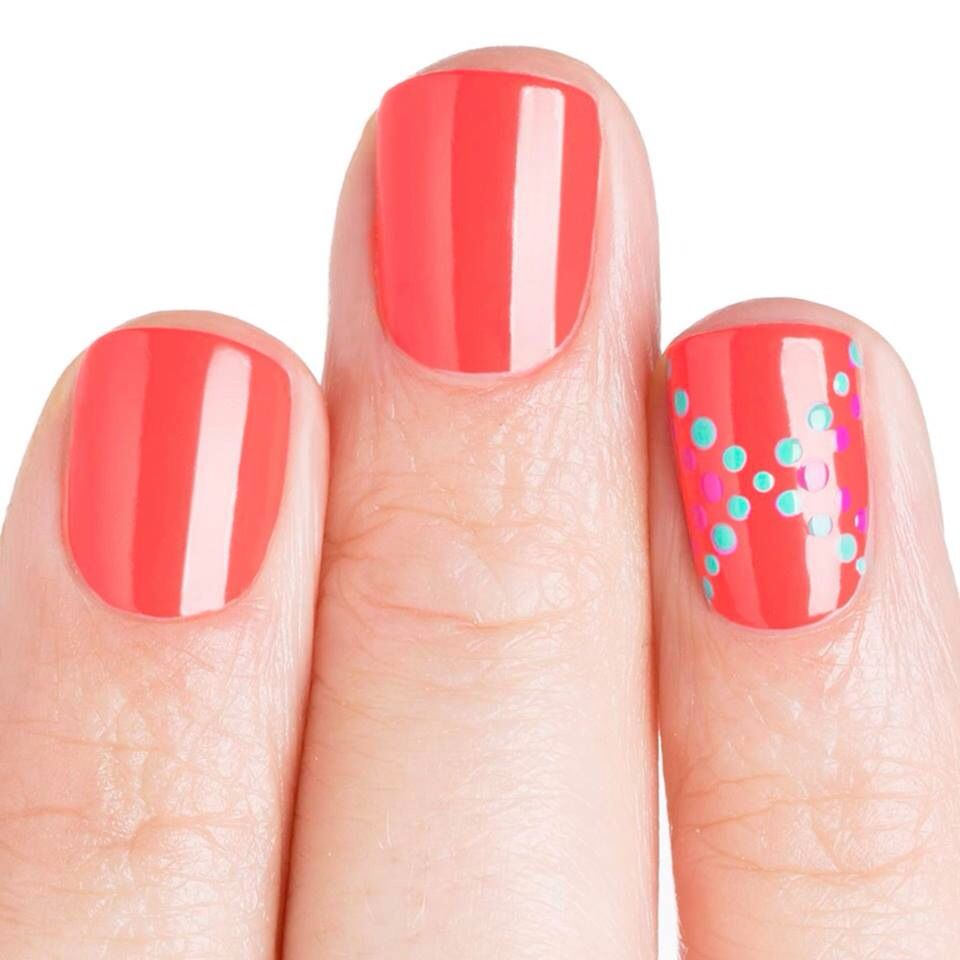Love the dot design nails pinterest