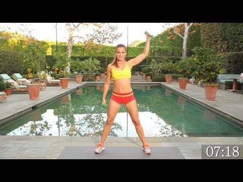 Top 7 Beginner Dumbbell Workouts - Hello Morning Sun #15minworkout