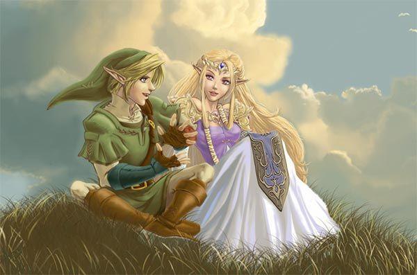 link and zelda - Link Et Zelda