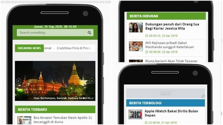 Aplikasi Android Webview Untuk Swarakalibata Android Studio Aplikasi Android Splash Screen Android