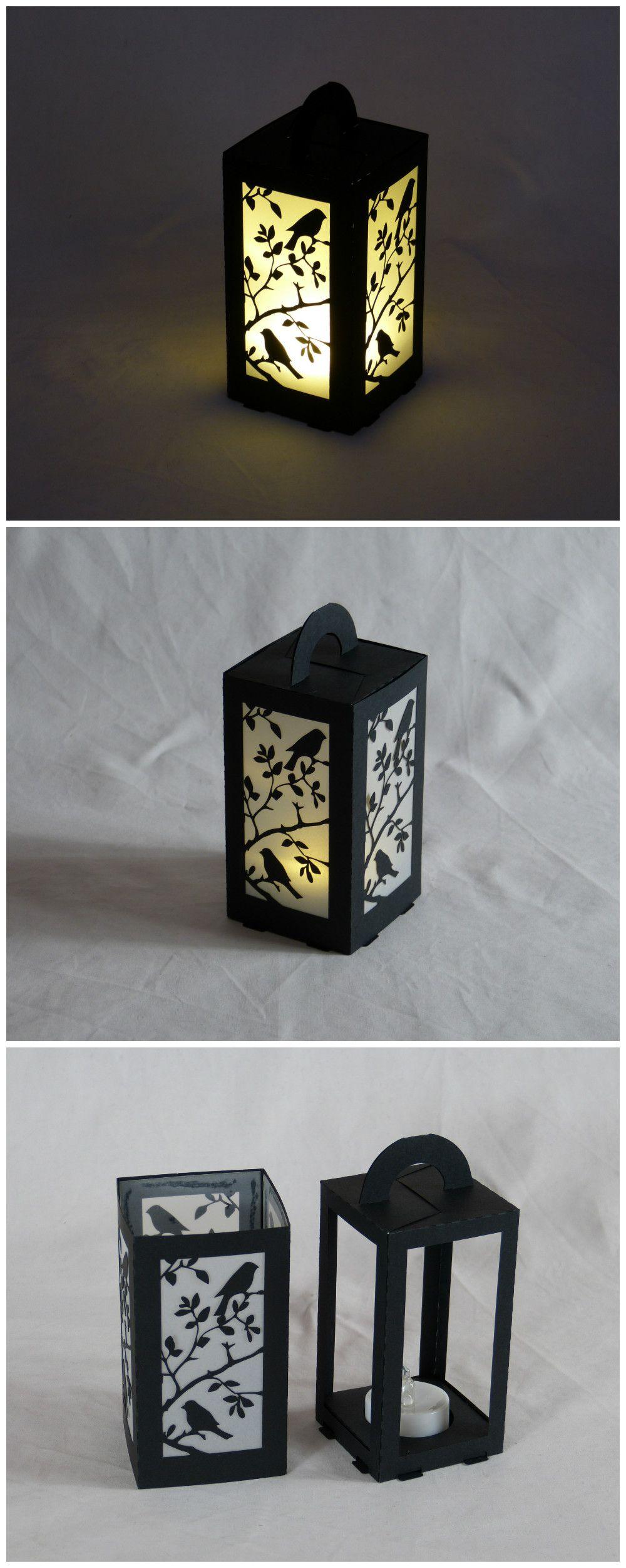 Lasercut Paper Lantern For Led Tea