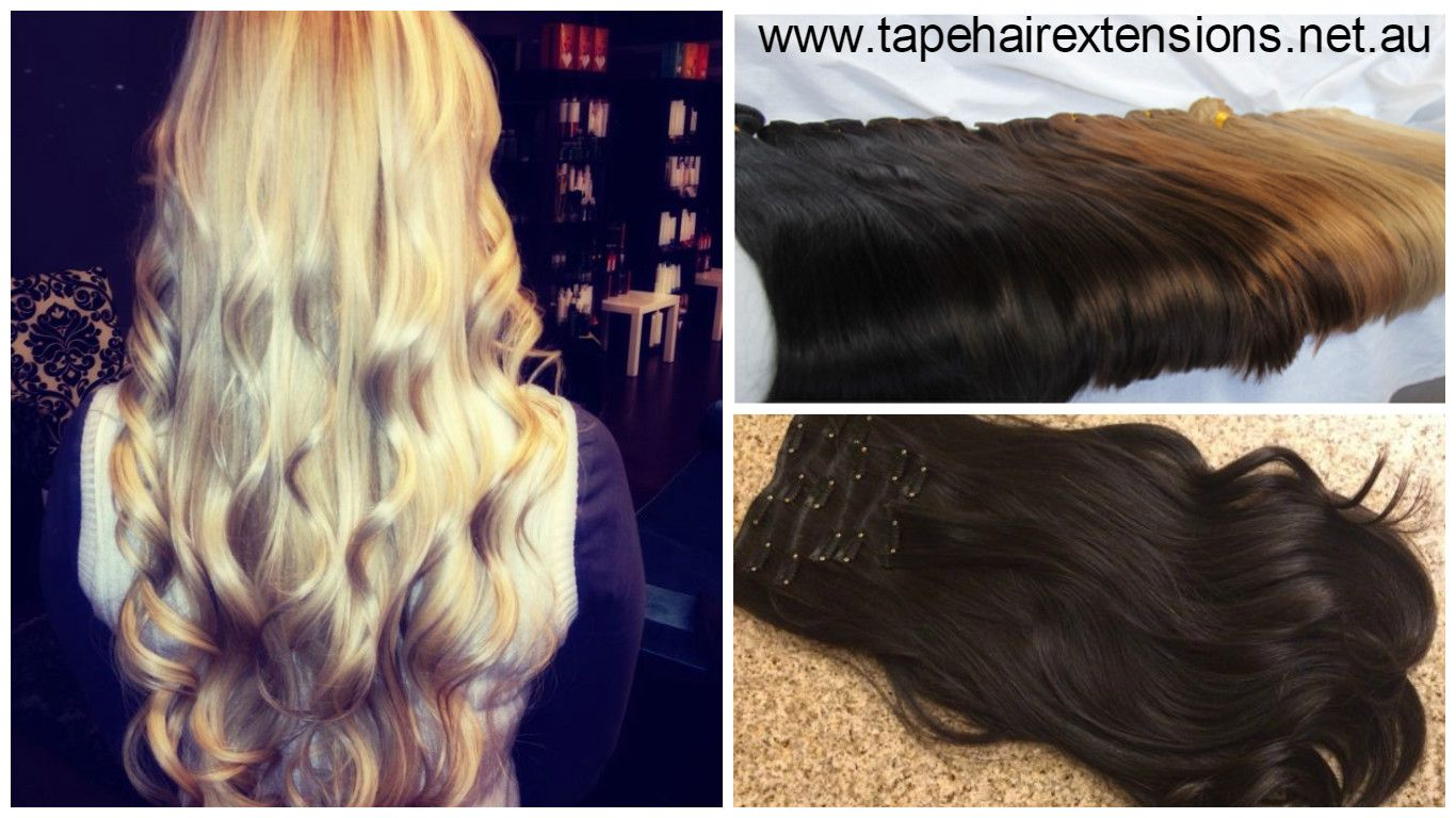 Clip In Hair Extensions Superior Thick Russian 200 Grams Best