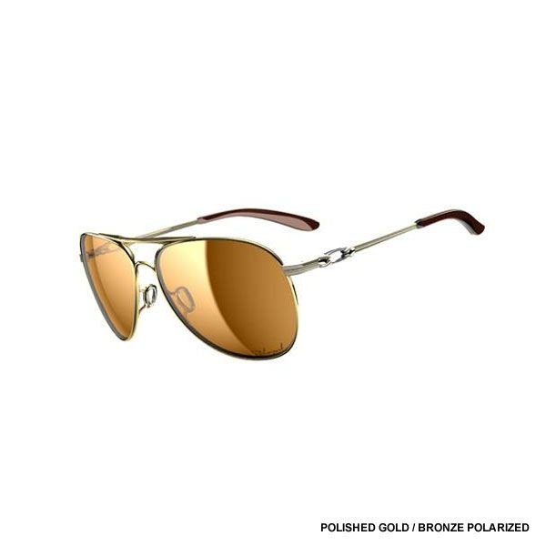Oakley Given Polished Gold Bronze Polarized Gold YJN9DVT