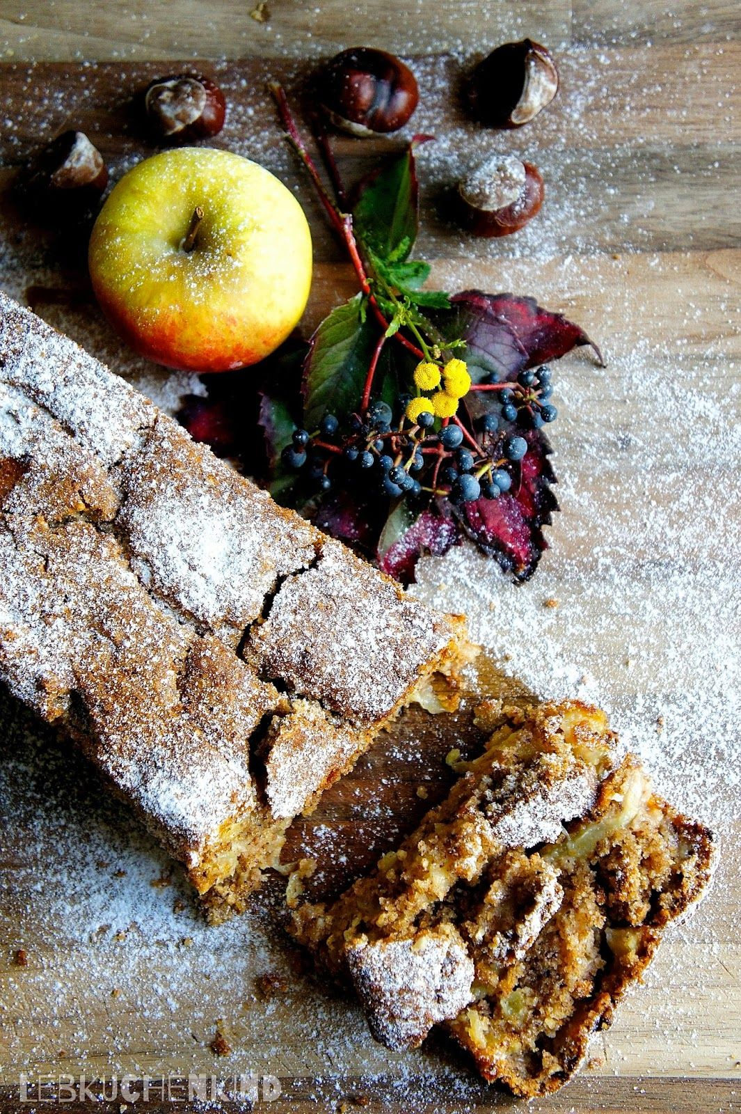 Apfel haselnuss kuchen vegan