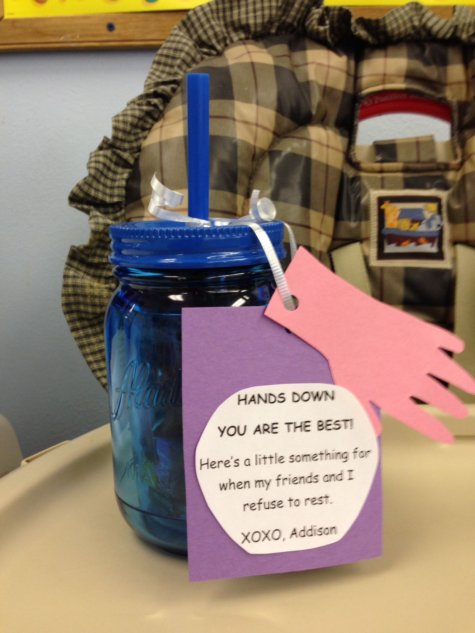 Great Idea For Daycare Worker Gift Christmas Gift For