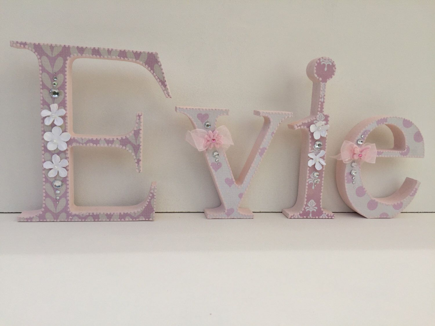 nursery letters wooden letters baby shower decor free standing