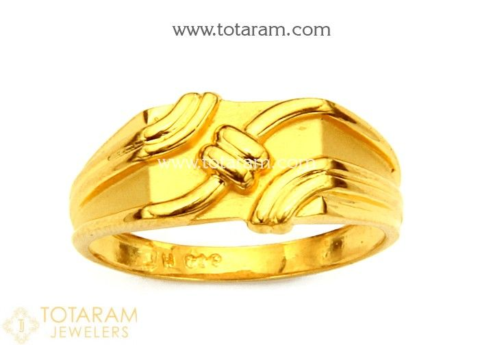 Gold Rings for Men in 22K Gold made in India Buy line Mens