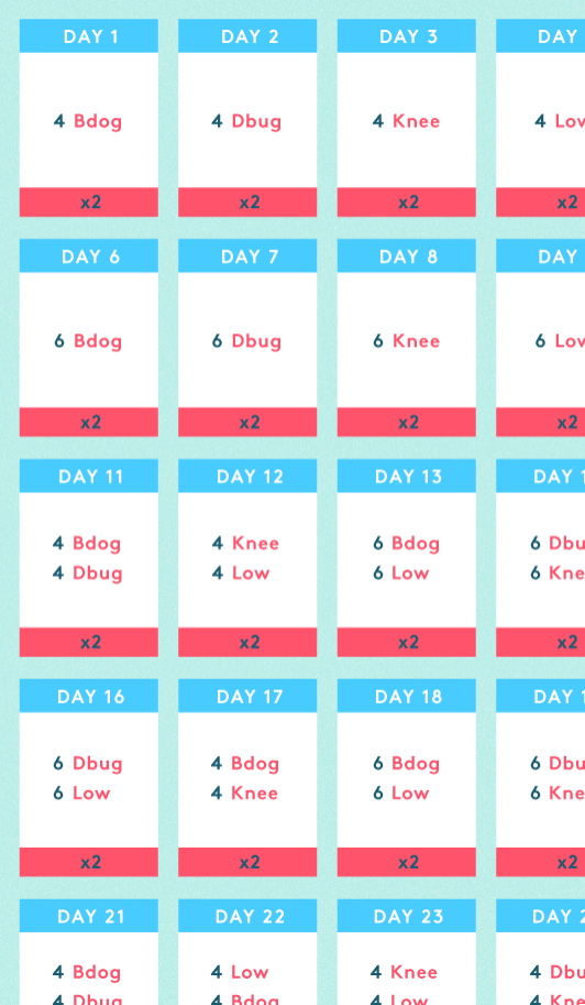 this 30 day challenge