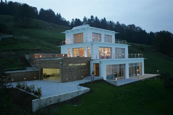 Steep Slope Houseplans More Pictures From Mountain Slope Modern House With Beautiful View Of