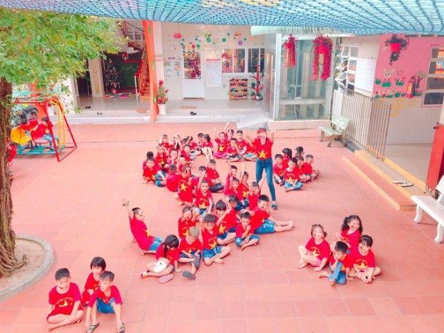 Áo cờ đỏ sao vàng trường mầm non Thành Nhơn - Hình 4