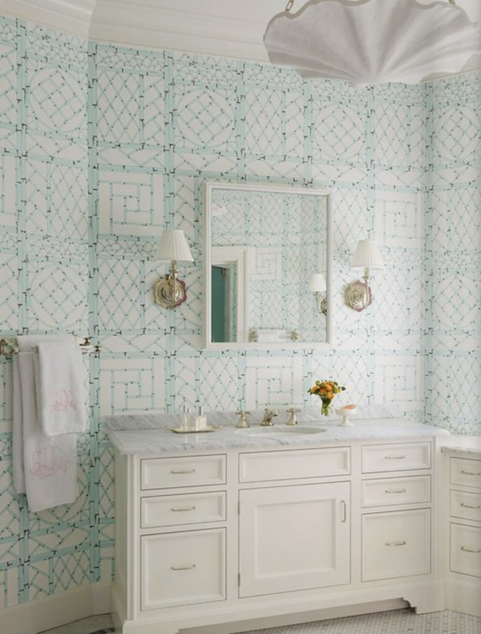 Love This Trellis Wallpaper Design From Quadrille Lyford