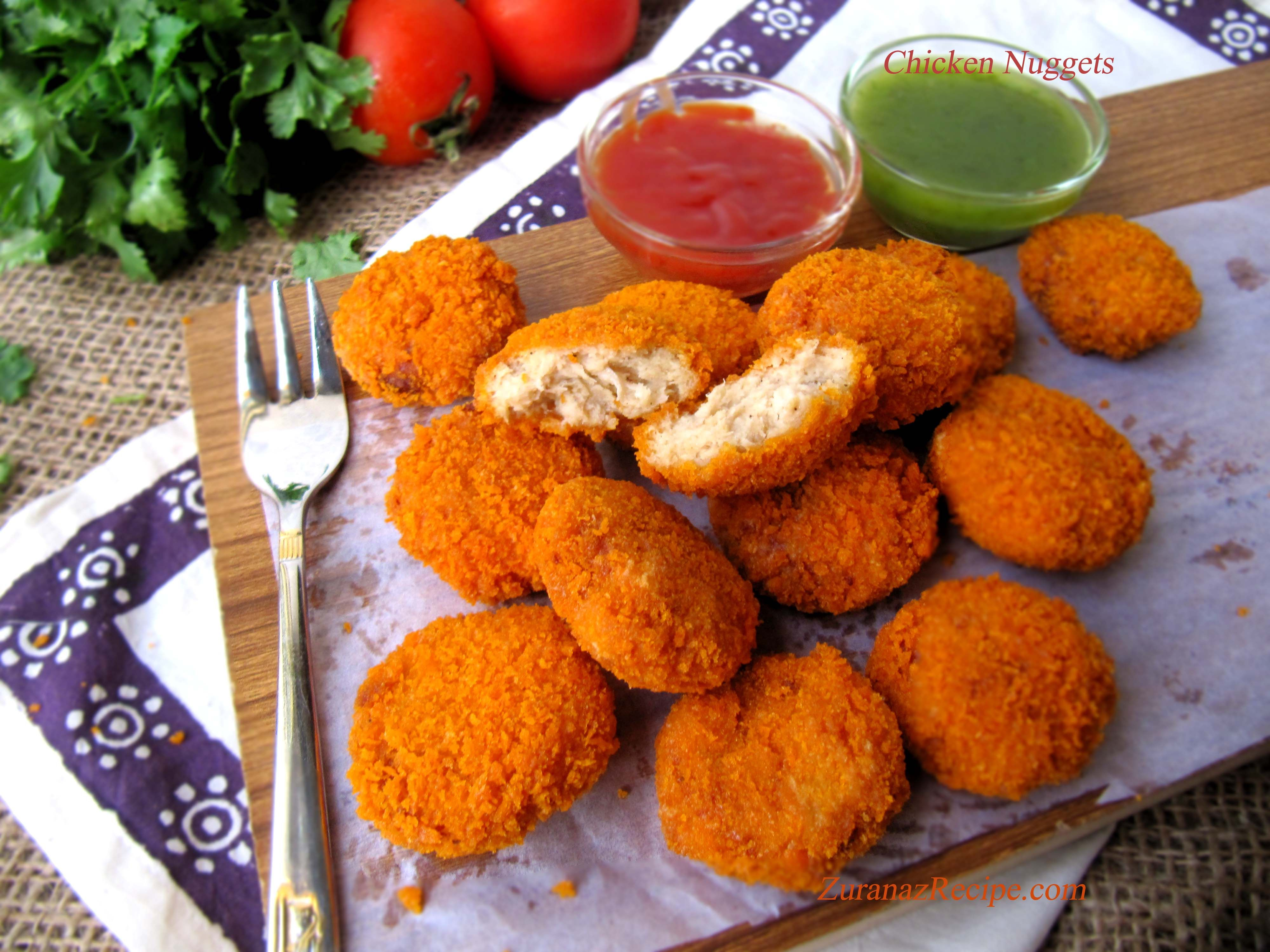 Chicken nuggets zuranaz recipengali bites pinterest foods chicken nuggets bangladeshi recipeschicken forumfinder Image collections