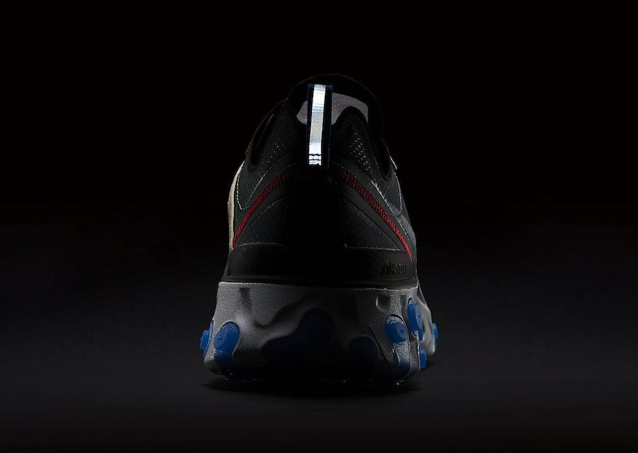 9dadffbf369c3 Nike React Element 87 Dark Grey Pure Platinum Photo Blue AQ1090-003 ...