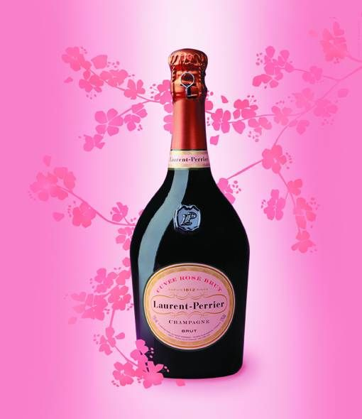 Laurent Perrier Rosé to offer for her 1st birthday!
