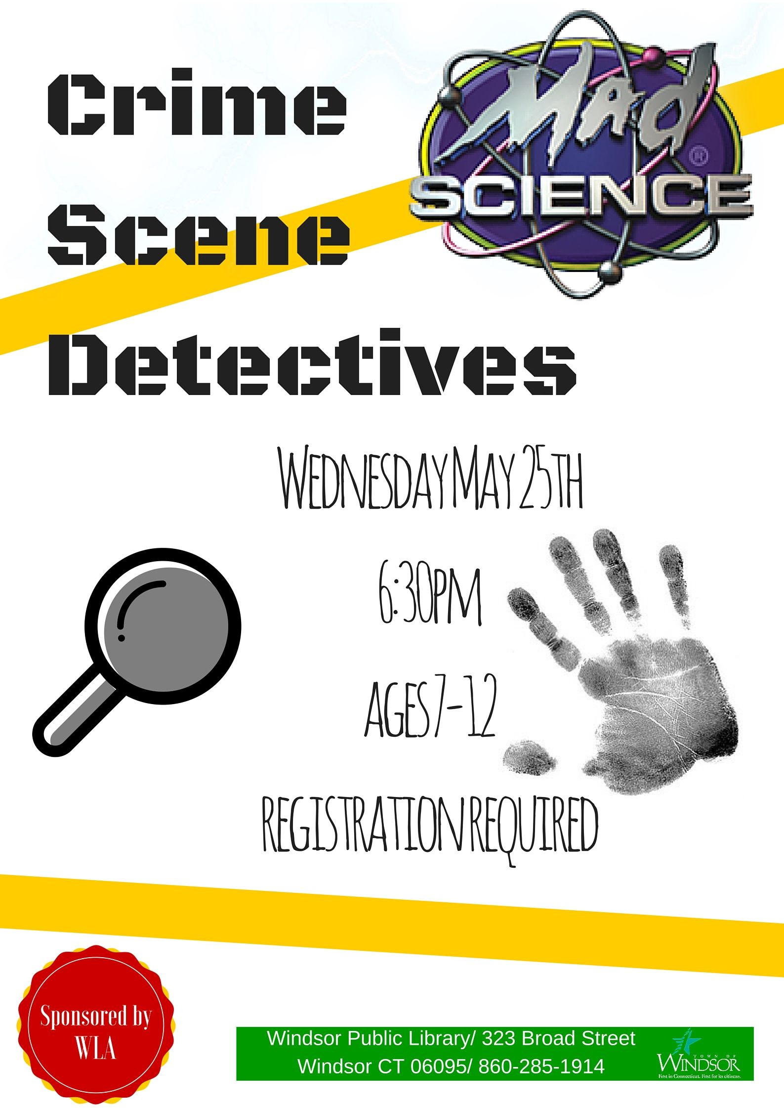 Mad Science Crime Scene Detectives