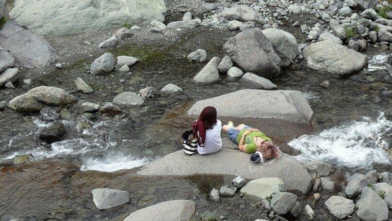 Quebrada de Macul.  Peñalolén, Santiago de Chile.