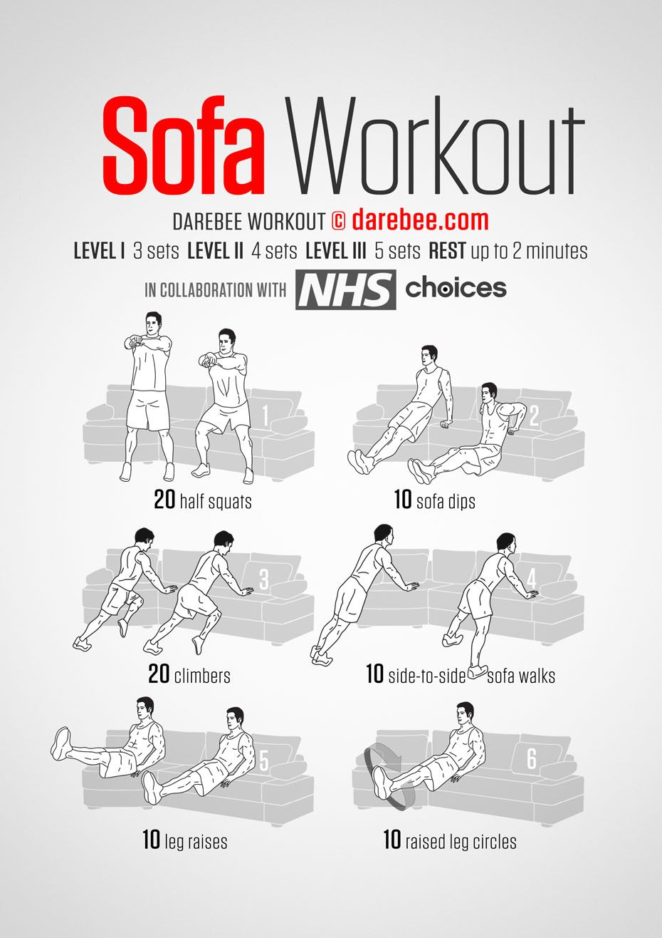 Best Sofa Workout Easy Workouts Exercise Tv Workouts 400 x 300