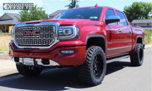 2018 Gmc Sierra 1500 Fuel Vandal Nitto Trail Grappler Gmc Sierra