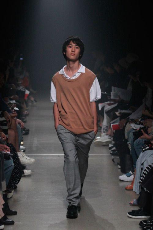 Keisuke Yoshida SS16.  menswear mnswr mens style mens fashion fashion style runway keisukeyoshida