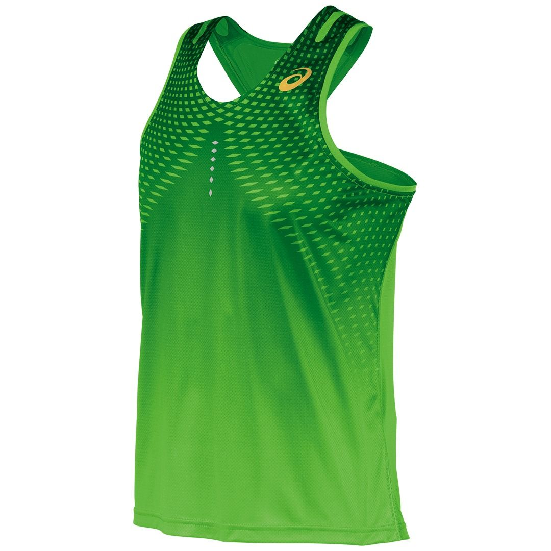 Speed Singlet   Mens Running Workout Shirts, Tank Tops, and Sports Bras    ASICS