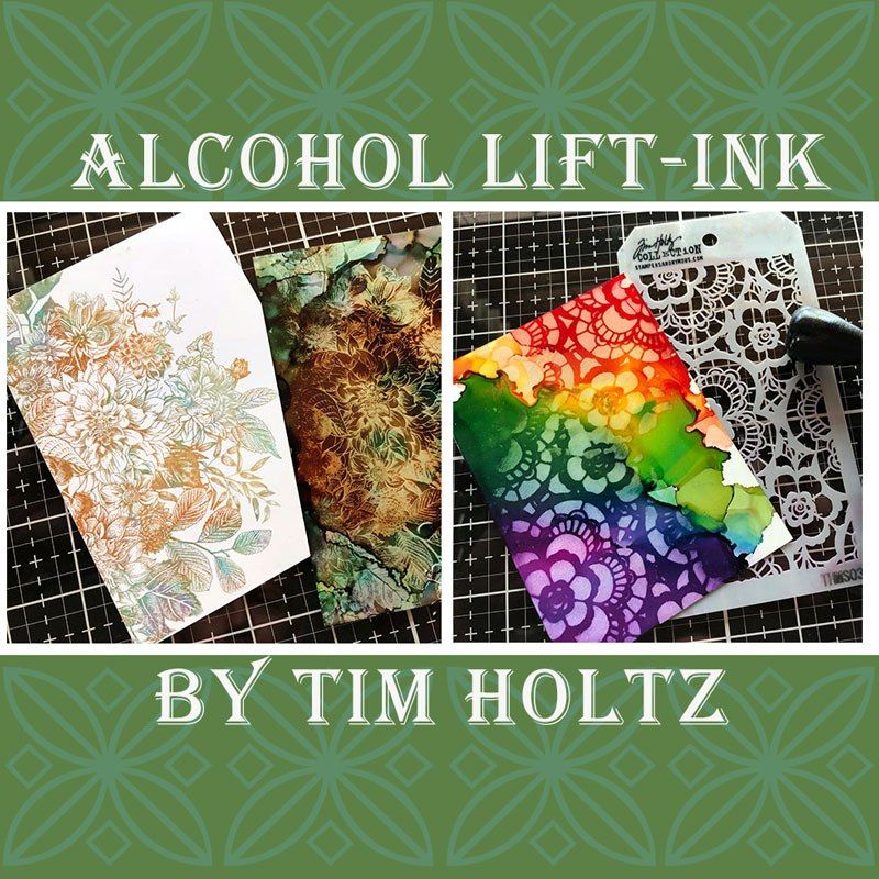 The Amazing Alcohol Lift-Ink Pad by Tim Holtz | Craft Warehouse