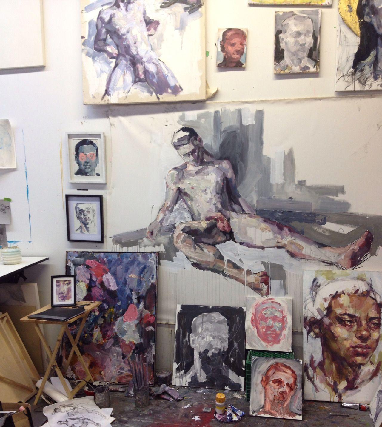 elly smallwood studio artists studios sketchbooks pinterest