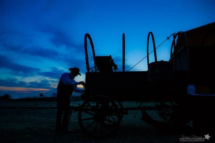 Easter Sunrise Service and Breakfast at the Wagon!  Chamber sponsored Chuck Wagon Breakfast at daylight Easter Sunday morning, 2015!  Y'all come join us in a joint all-church community sunrise service! www.FollowMeToThrockmorton.com You'll be glad you did!