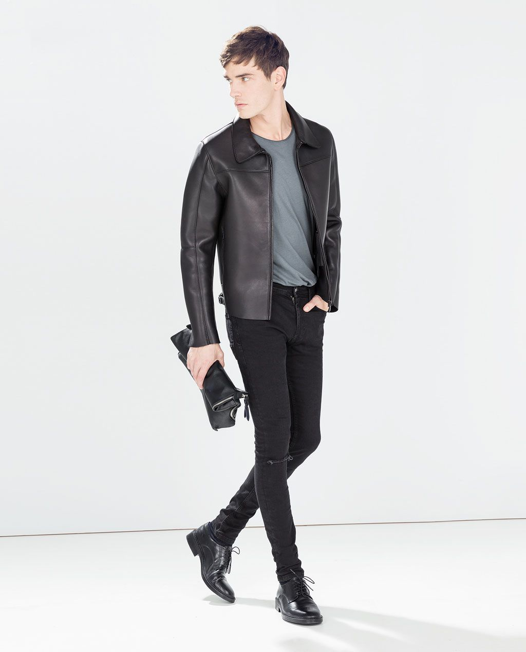 ZARA - MAN - TIGHT RIPPED SKINNY TROUSERS