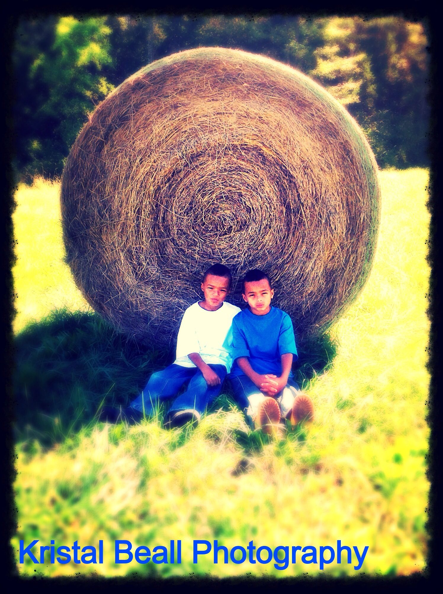 My boys. Two of my favorite subjects to photograph.