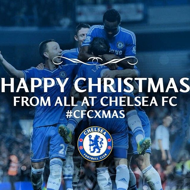 Merry Christmas from all at Chelsea FC! #CFCXmas #Padgram