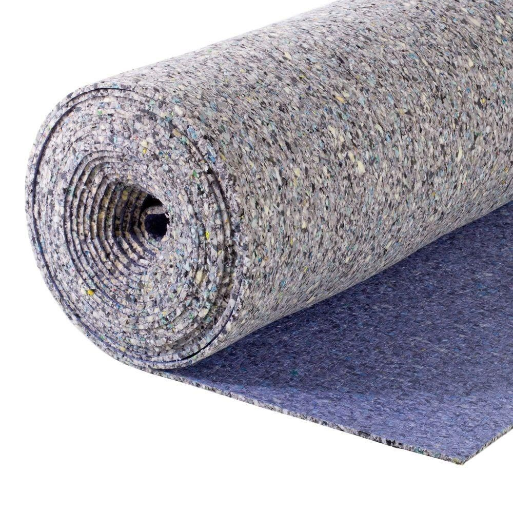 Contractor 5 16 In Thick 8 Lb Density Carpet Pad 150553489 37 The Home Depot Carpet Padding Cost Of Carpet Buying Carpet