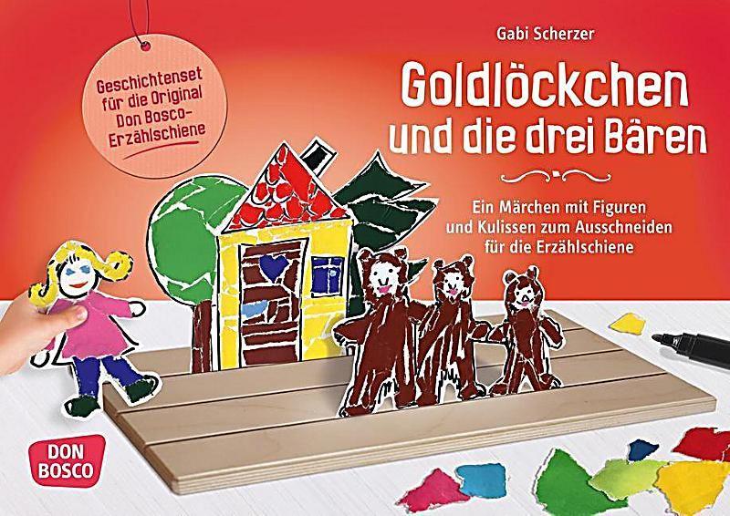 Goldlockchen Und Die Drei Baren Gabi Scherzer Kartoniert Tb Buch In 2020 Bucher Und Bastelsets