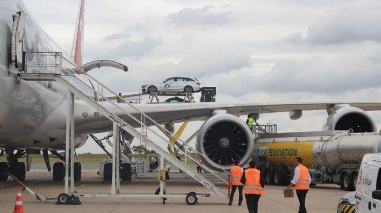 São necessários seis voos para trazer todos os equipamentos e carros da F1 ao Brasil