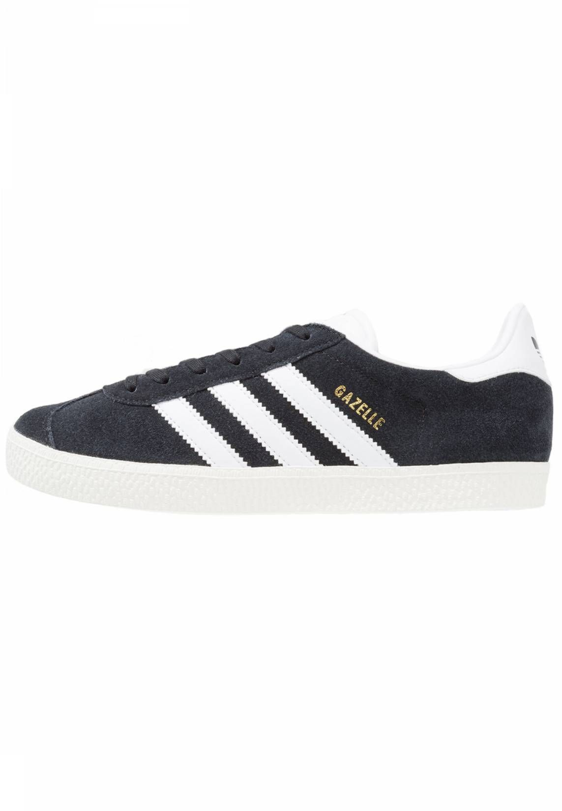 adidas Originals GAZELLE - Zapatillas core black/white/gold metallic tE93SK5ZZh