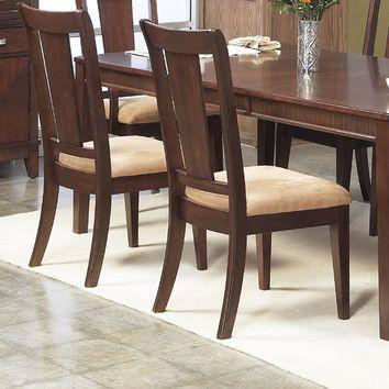 Alpine Furniture Saratoga Side Chair, Wayfair Dining Room Side Chairs