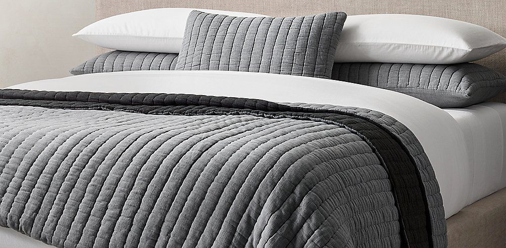 Quilts Coverlets Rh Modern Quilted Coverlet Rh Modern Coverlets