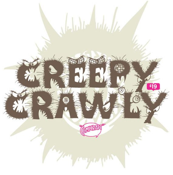 Creepy Crawly #font ideal for #halloween http://www.t26.com/fonts/5180-CreepyCrawly