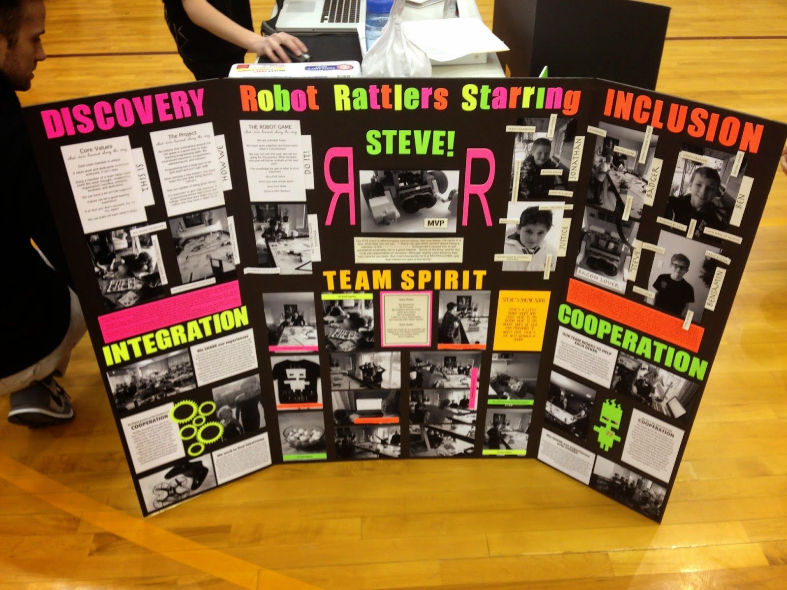 Image result for first lego league presentation board