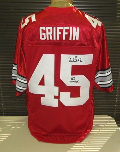 2aa6ecf5518 Archie Griffin Signed Ohio State Nike Jersey HT 74/75 by Radtke Sports.  $249.99
