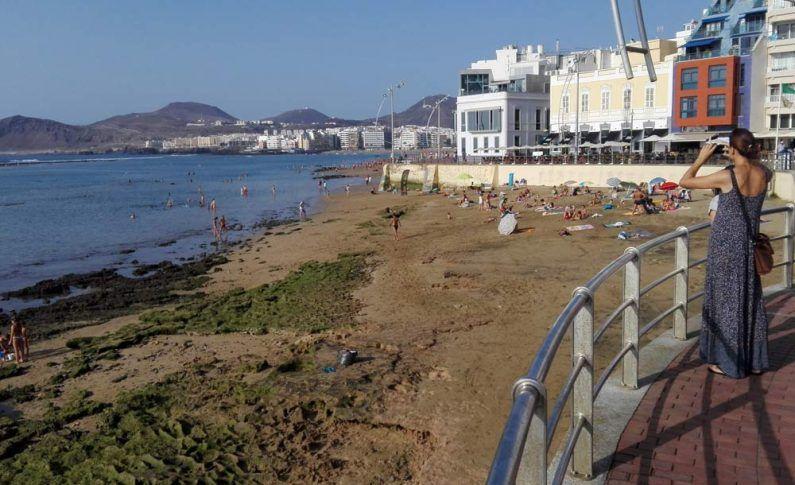 Miplayadelascanteras Com Miplaya Playa Las Palmas De Gran Canaria Palmas