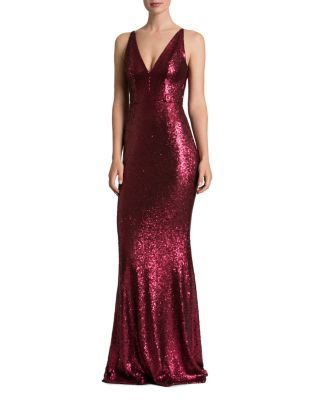 Dress The Population Sequin Gown Bloomingdales Clothes