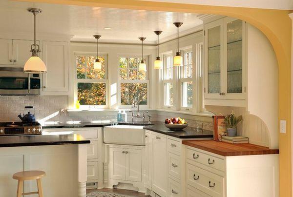 Farmhouse Kitchen Sinks For The Practical And Nostalgic Cook Kitchen Layout Corner Sink Kitchen Kitchen Sink Design