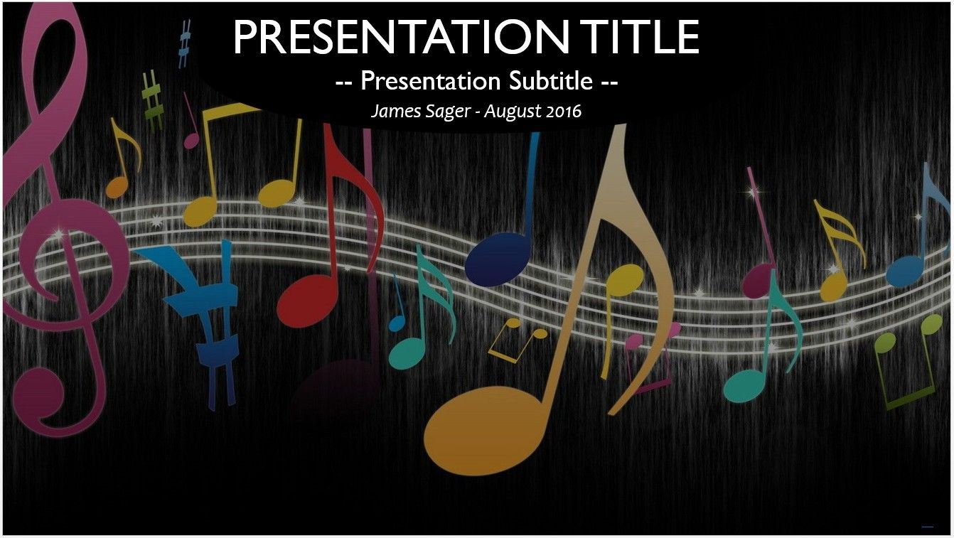 Music notes powerpoint free powerpoint templates pinterest music notes powerpoint toneelgroepblik Gallery