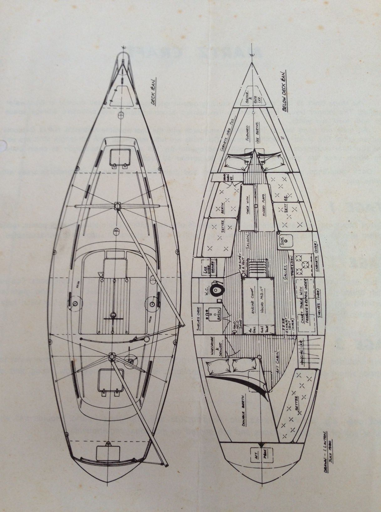 hight resolution of bruce roberts 35 sloop center cockpit google search