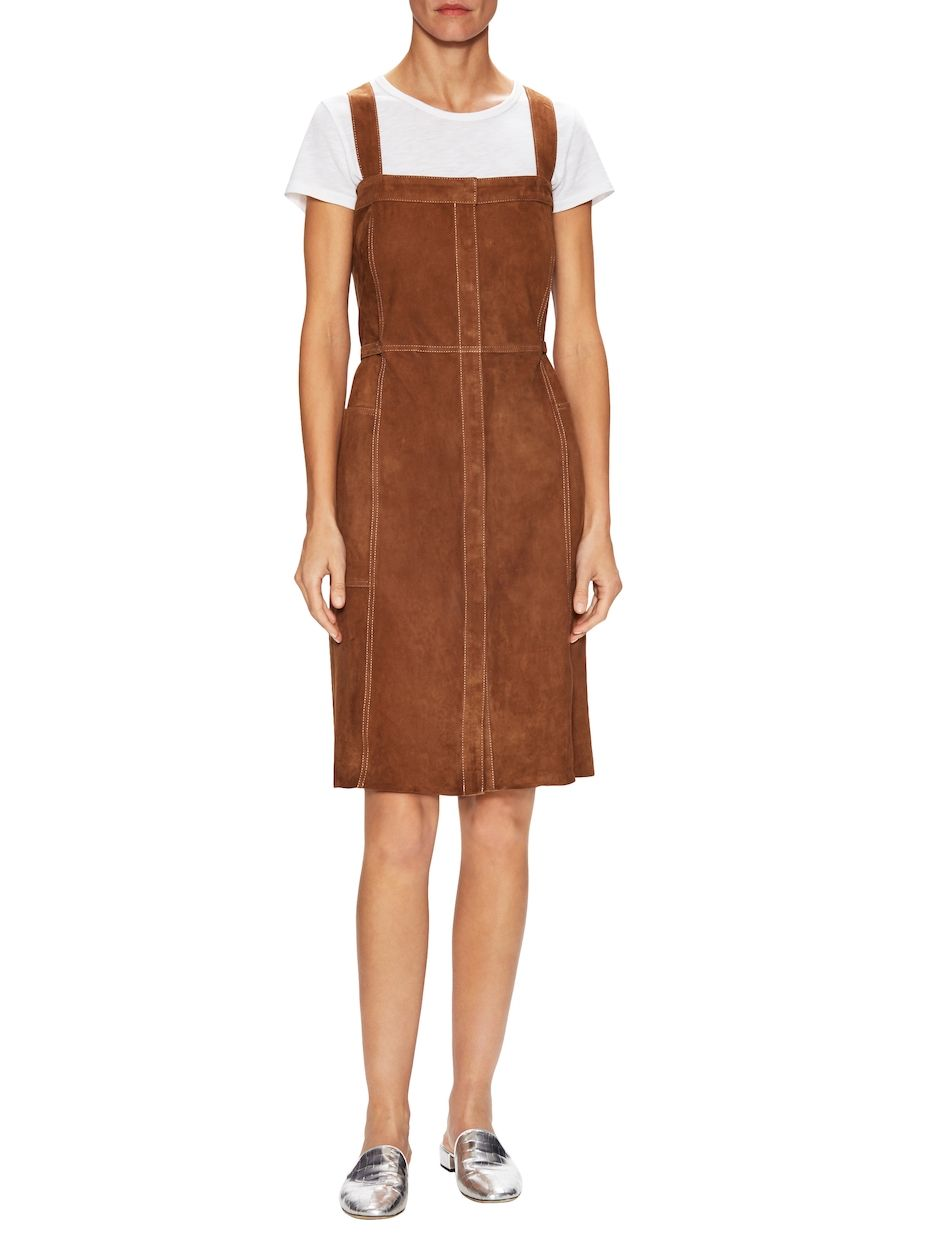 Mih jeanne leather overall dress mih jeanne leather womenus
