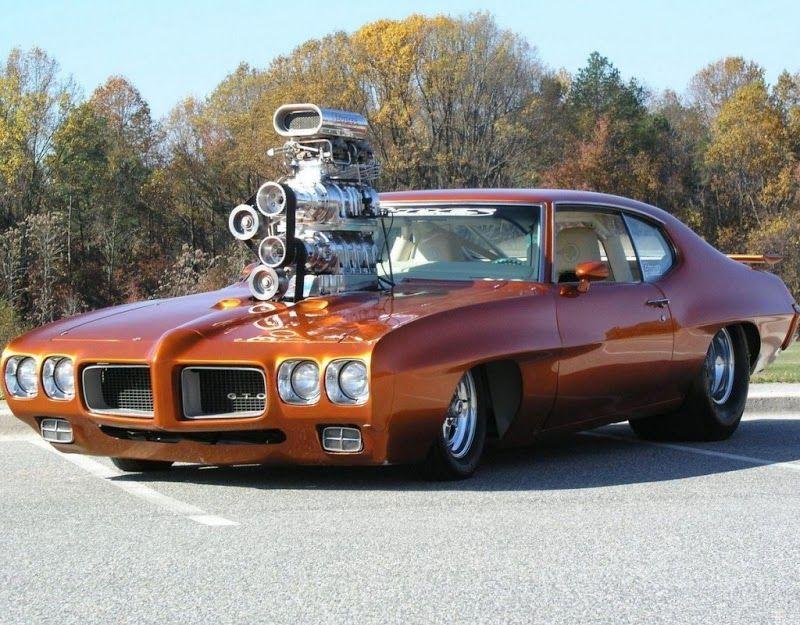 Esta GTO tiene un largo blower. | Old time hot rods | Pinterest ...