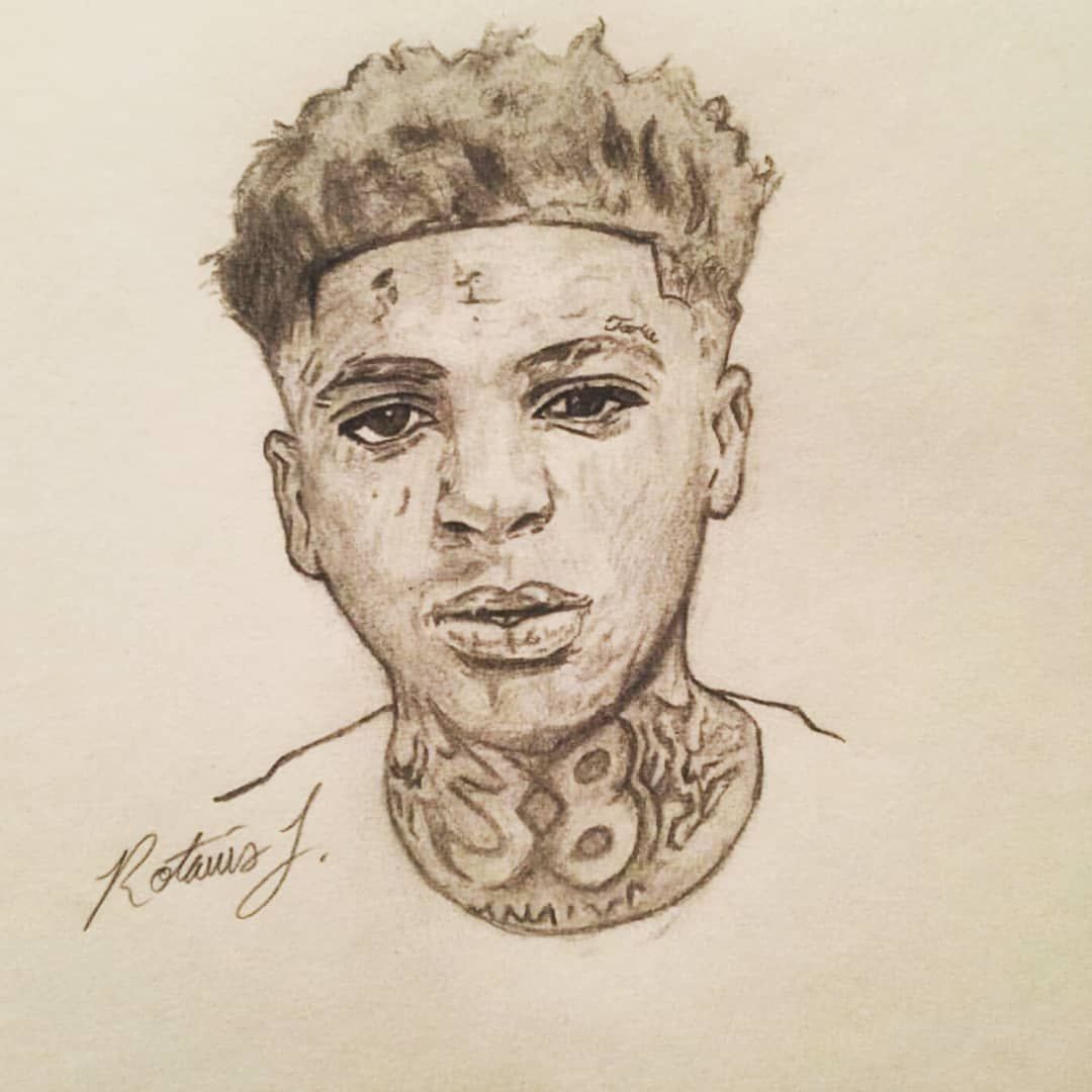 Drawing Of Yb💉💣 Nbayoungboy Youngboyneverbrokeagain