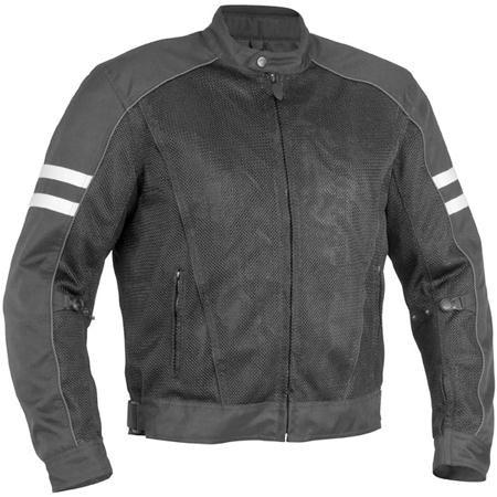 River Road Baron Mesh Motorcycle Jacket - BikeBandit.com